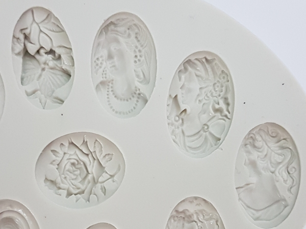 Mulaj din silicon medalioane antice