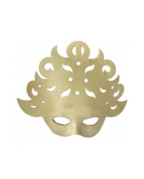 Masca venetiana din carton presat baroc