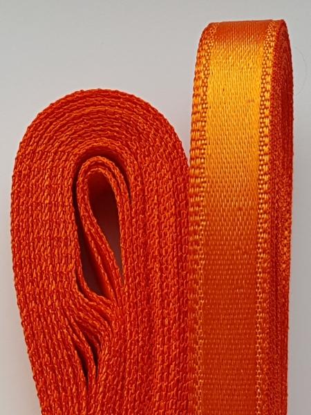 Saten portocaliu 10 mm