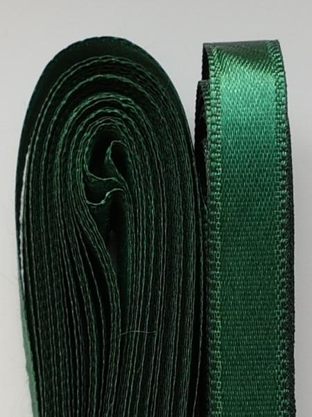 Saten verde inchis 10 mm