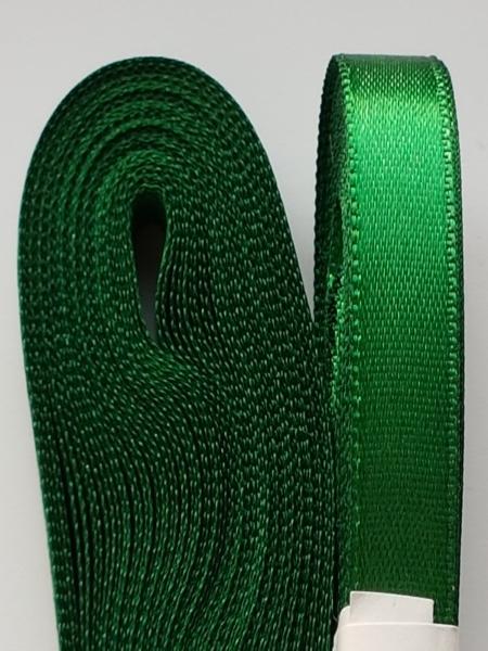 Saten verde  10 mm