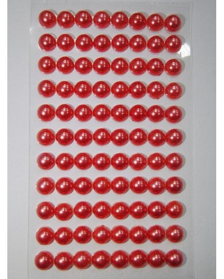 Perle jumatati AA. 8 mm(88 buc) somon