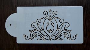 Sablon plastic flexibil - Ornament tort