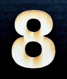 Cifra din lemn