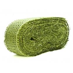 Banda sac iuta verde deschis
