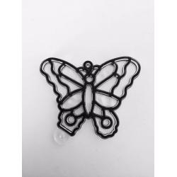 Sablon plastic de colorat - Fluture