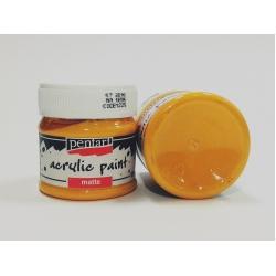Vopsea acrilica galben soare, 50 ml