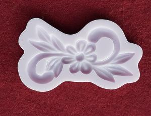 Mulaj din silicon, ornament cu floare