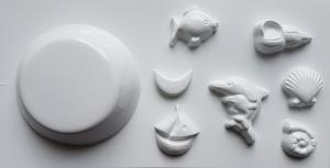 Matrita pentru turnat ipsos, modele marine