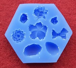 Mulaj din silicon, mix forme