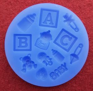 Mulaj din silicon, accesorii bebe 2