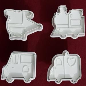 Decupatoare din plastic - Mijloace de transport