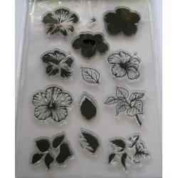 Stamplia silicon flori