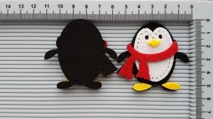 Figurina din fetru - pinguin