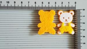 Figurina din fetru - ursuleti