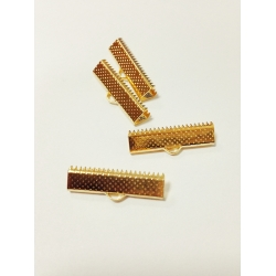 Capat panglica 25 mm auriu