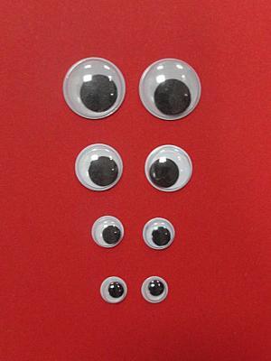 Ochi mobili marimea 1 (pachet)