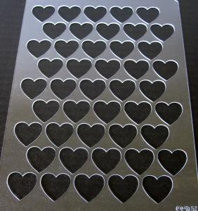 Sablon plastic - Valentine's