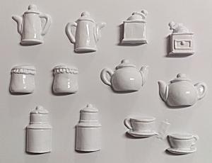 Forme pt turnat ipsos, praf ceramica, ciocolata vase miniaturi